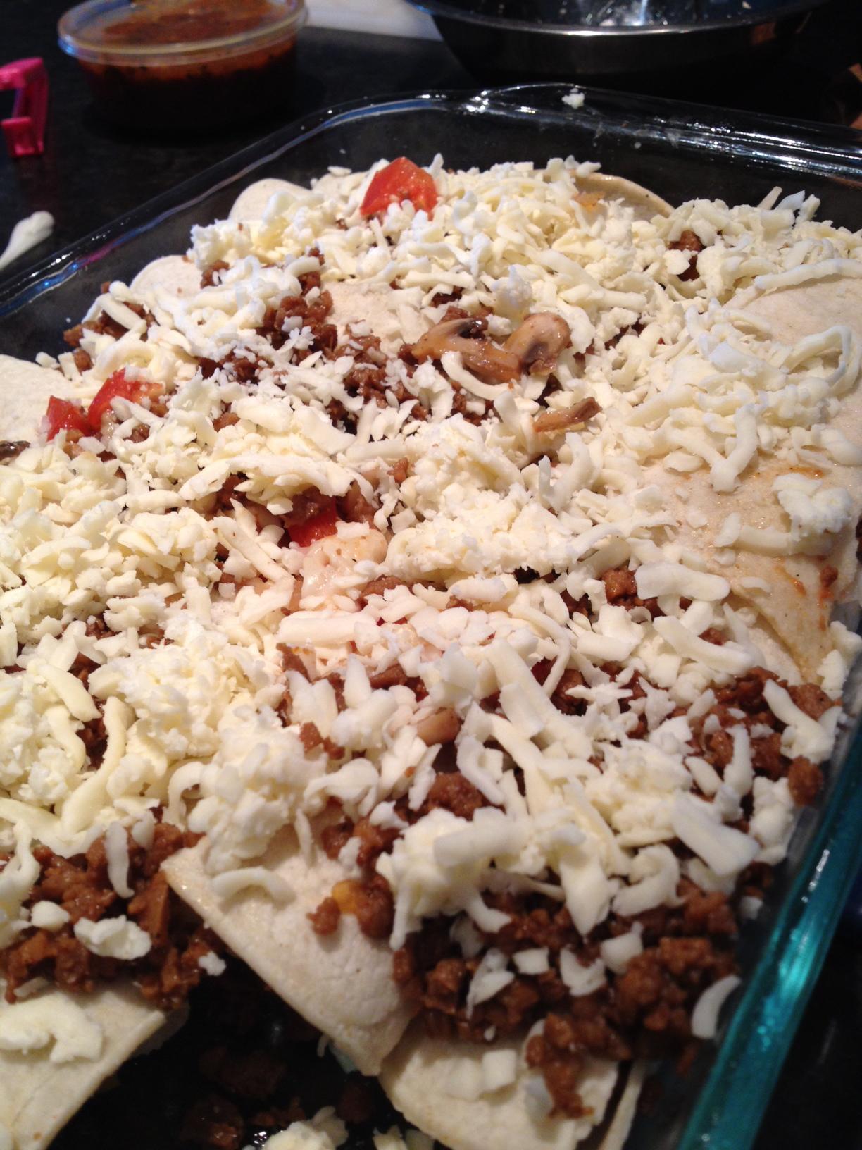 Veggie Enchiladas Health Food Junkies