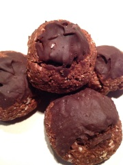 Chocolate Coconut Almond cookies