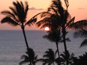 Maui sunset 2013